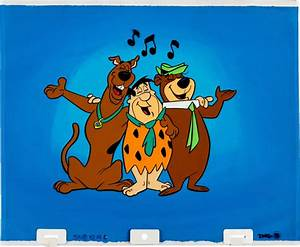 Hanna Barbera Cel and Drawings - anima firenze