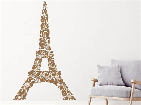 Wandtattoo Kinderzimmer Frankreich by Wandtattoo Eiffelturm Ornament Wandtattoo De