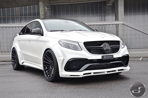 White Mercedes Gle Coupe With Hamann Body Kit Has A Wing