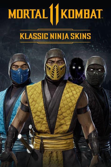 mortal kombat  klassic ninja skins  xbox   mobygames