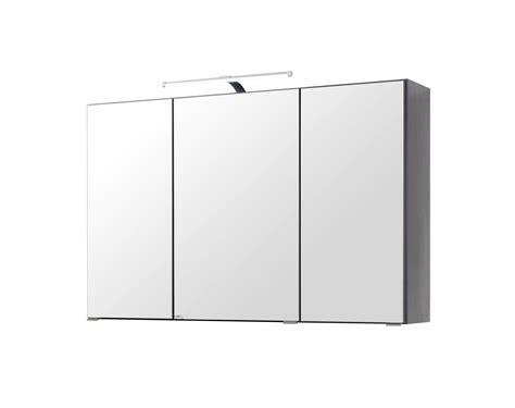 spiegelschränke bad günstig bad spiegelschrank 3 t 252 rig 100 cm breit graphitgrau bad florida