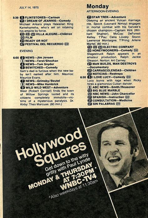 game shows ads guide tube boob wink martindale few