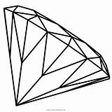 Coloring Pages Jewel Diamond Jewels Popular Coloringhome sketch template