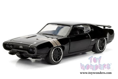 toys fast furious dom s plymouth gtx f8 quot the fate