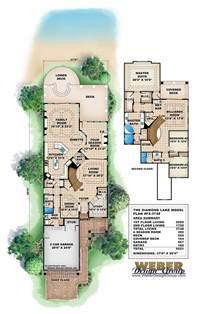 lake house plans for narrow lots lake house plan weber design