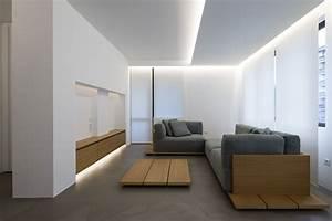 Minimalist Interior Design : elia nedkov designs a minimalist interior in sofia bulgaria ~ Markanthonyermac.com Haus und Dekorationen