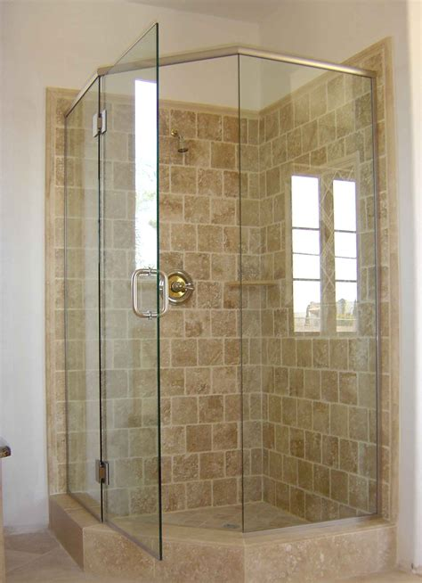 shower door glass  choice corner shower