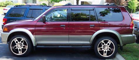 1999 Mitsubishi Montero Sport by Montero Sport Fsm 99 02 Bmillerdiy