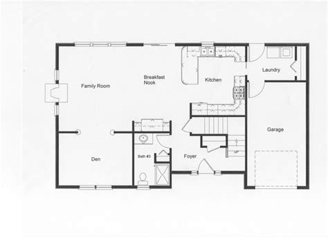 Surprisingly Floor Plans Open by 2 Story Colonial Floor Plans Monmouth County County