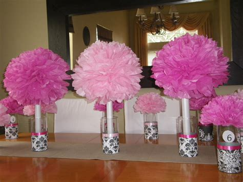 paper centerpieces for tables designs by cris easy centerpiece