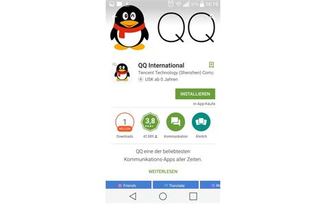 Messenger Qq International Von Tencent Im Test