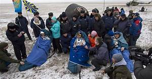 Three ISS astronauts return to Earth safely