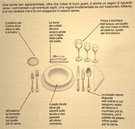 Posizione Dei Bicchieri A Tavola by Gt Ricerca Per Tag Galateo