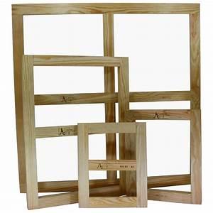 Chassis Pour Toile Tendue : ch ssis nu en bois pour toile sur mesure avec cl s ~ Teatrodelosmanantiales.com Idées de Décoration