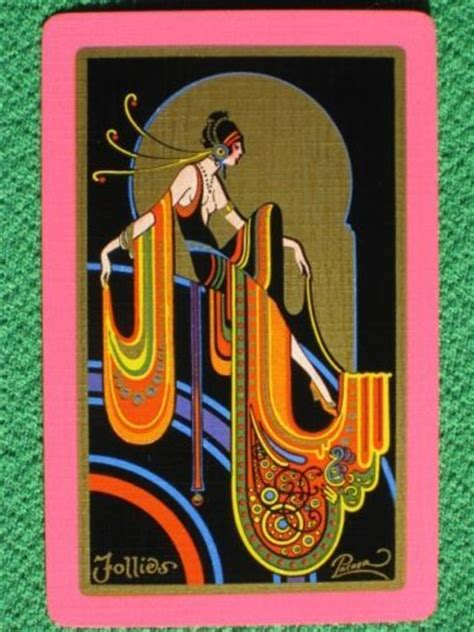 packers playing cards  art deco  pinterest