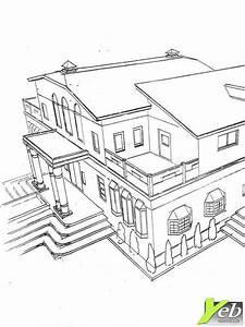 Dessin Intérieur Maison : coloriage maison jardin ~ Preciouscoupons.com Idées de Décoration