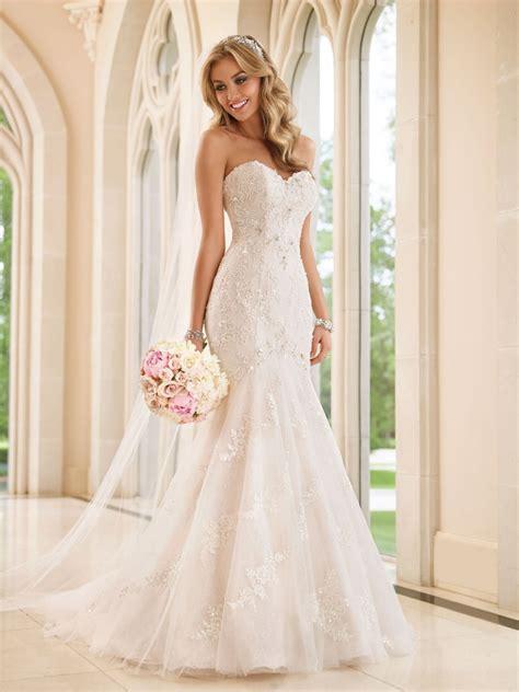 pastel pink dress stella york wedding dress sneak peek style 6051