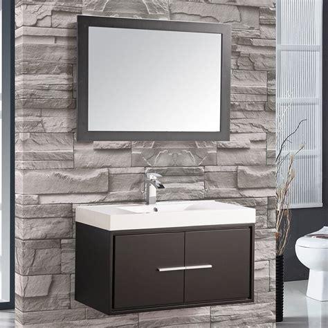 mtdvanities cypress  single floating bathroom vanity