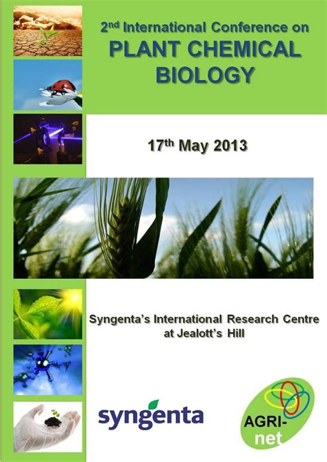 Agrinet  News  2nd Agrinet International Conference On Plant Chemical Biology Jealott's Hill