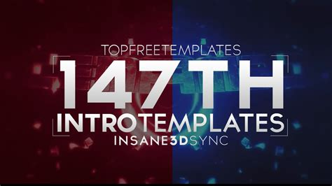 top free templates free intro template 3d sync 2015 147 w tutorial