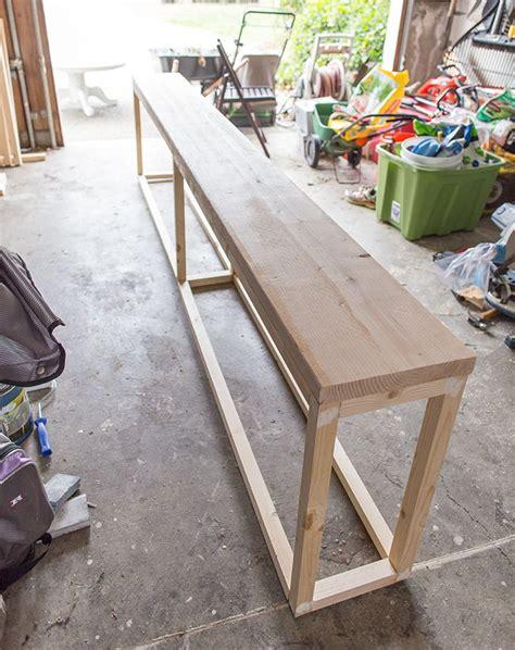 Sofa: Terrific behind the sofa table design Table Behind Couch Name, Behind Couch Bar Table