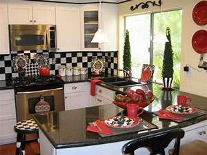 unique kitchen decorating ideas for christmas family With kitchen colors with white cabinets with coffee themed wall art