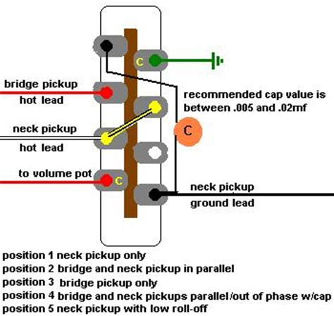 Wiring Diagram For Telecaster Way Switch