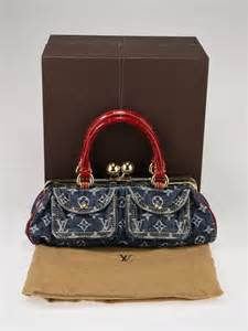 louis vuitton limited edition blue denim monogram denim