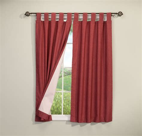 walterdrake energy saving tab top curtains set of 2