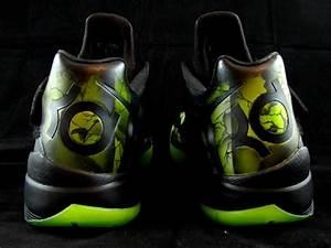 "Nike KD4 ""Kryptoman"" Superman Shoes by District Customs"