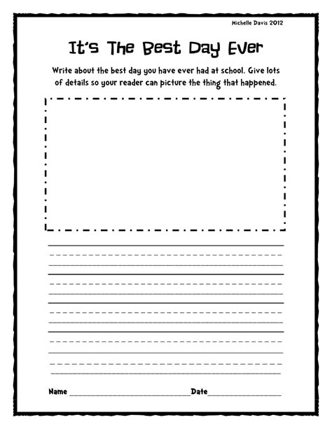 creative writing prompts st grade cover letter