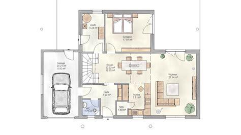 Grundrisse Einfamilienhaus Mit Garage by Grundriss Einfamilienhaus Mit Garage