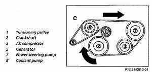 Mercedes C280 Serpentine Belt Diagram