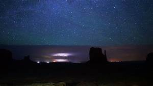 Monument Valley Milkyway 23 Time Lapse Stars Stock Footage ...
