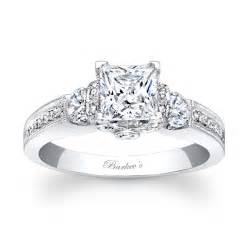 Barkev's Princess Cut Engagement Ring - 7832L