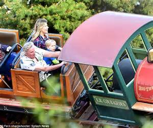 Gary Busey at Disneyland as he celebrates his son's sixth ...