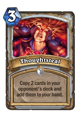 Budget Priest Deck Hearthpwn by Thoughtsteal Hearthstone Cards