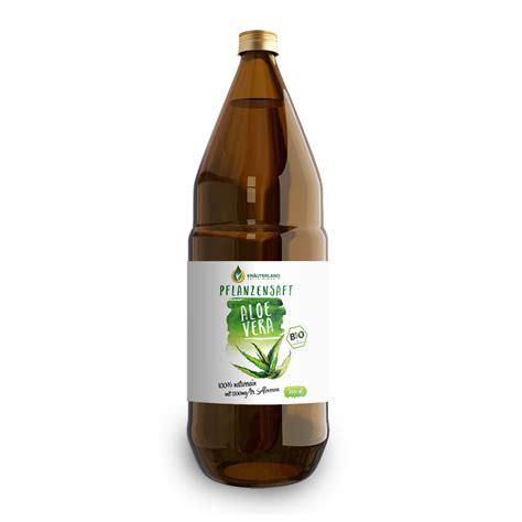 kraeuterland aloe vera pflanzensaft  bio qualitaet ab