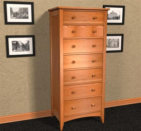 shaker style lingerie chest plans furniture plans