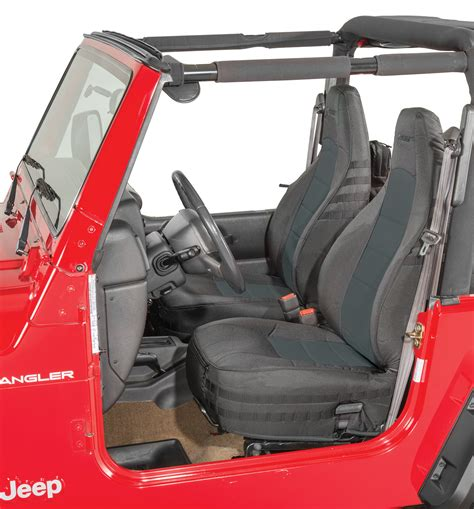 bartact mil spec front seat covers for 03 06 jeep