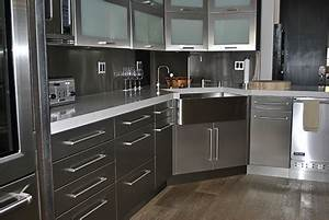 stainless steel kitchen cabinets cabinet doors and With what kind of paint to use on kitchen cabinets for custom computer stickers