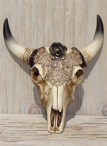 Cow Skull Decor Southwestern Decor Faux Taxidermy Head