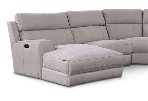 Sectional With Recliners by Newport 5 Power Reclining Sectional With Left Facing