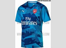 Outstanding Puma Arsenal 1718 PreMatch Home & Away