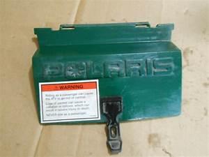 Polaris Magnum 425 1997 97 4wd Atv Rear Storage Box Cover