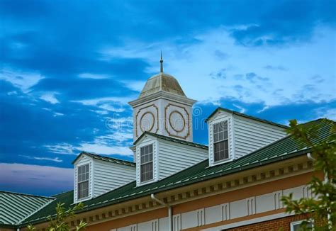 Dormers Community Centre by Two White Dormers On Grey Shingle Roof Stock Photo Image