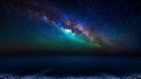 Milky Way Galaxy From The Canary Islands Wallpaper