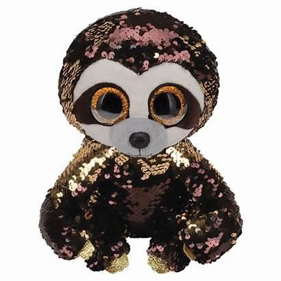 Beanie Ty Boos Flippables Dangler Boo Sloth