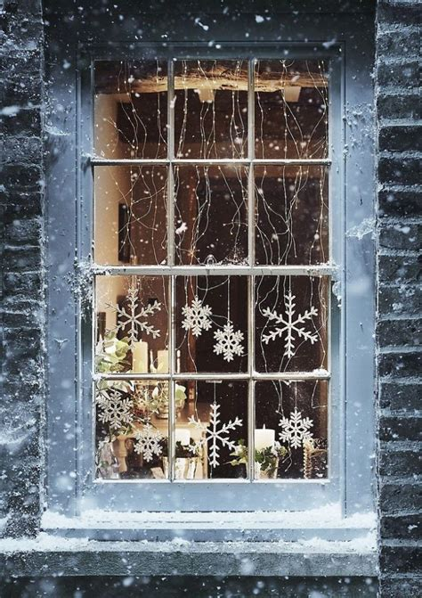 christmas window lights decoration  ideas christmas
