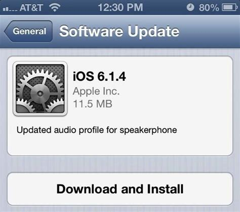 iphone update apple releases ios 6 1 4 for iphone 5 with updated audio